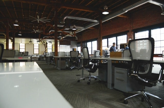 Clean Office-space