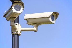 CCTV on Pole